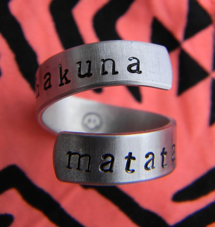 Can i please have this? I love the Lion King hakunamatata rings