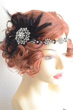 Wedding hair on Pinterest | 1920s, Hairstyle For Long Hair and ...