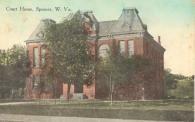Spencer,WV  Built 1887 Courthouse