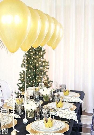 Decoraciones E Ideas Para Nochevieja En Casa O Terraza