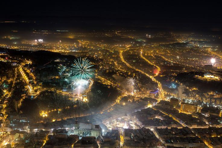 Happy New year 2015 Brașov Romania .... FireWorks