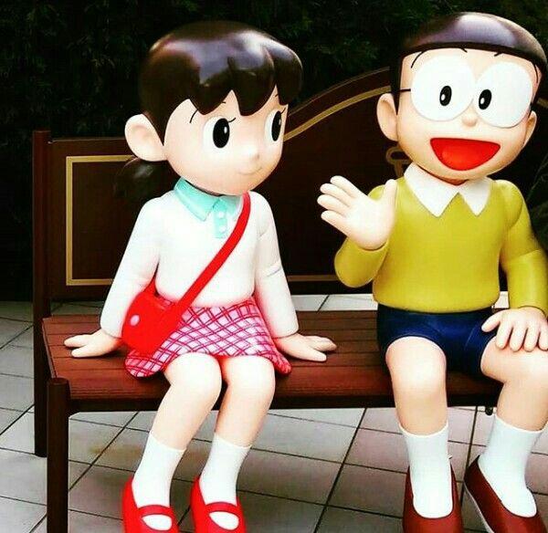 Pin By Angel Shizuka On Nobita Shizuka Cute Couple Wallpaper Cute Love Images Cute Cartoon Pictures
