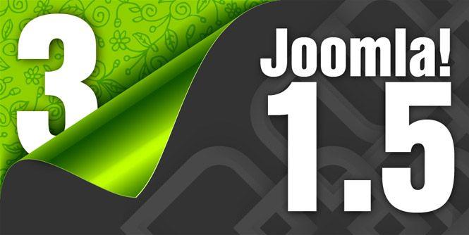 Van #joomla15 naar #Joomla3x upgrade