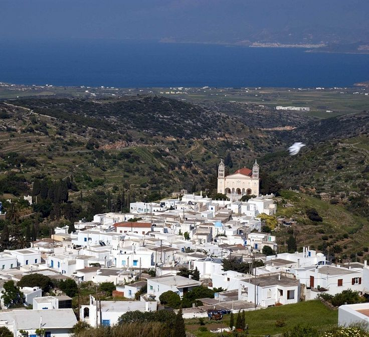 One of the most graphical mountain villages of #Paros, #Lefkes Village.
