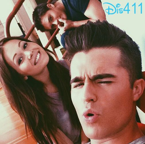 Photo: Kelli Berglund With Spencer Boldman