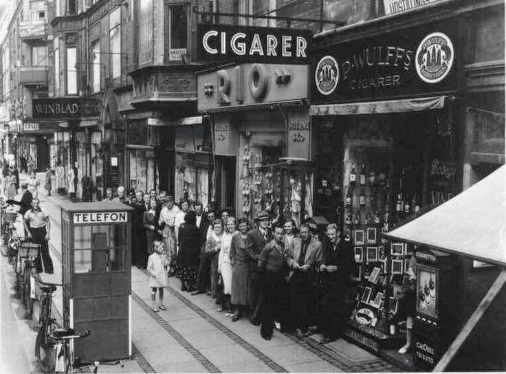 Vesterbrogade ca 1940