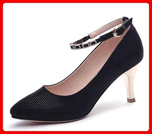 Frau Frühling Aufzug Schuhe fein mit hohen Absätzen Schuhe Dame zeigte Schuhe flach Mund mit Frau Schuhe , US8 / EU39 / UK6 / CN39 - Slipper und mokassins für frauen (*Partner-Link)