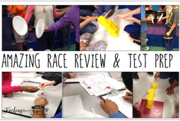 Amazing Race { Fun Test Prep Review }