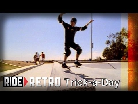 Learn a new trick each and every day from top pros. You'll get step-by-step instructions on how to master every trick in skateboarding! Tune in seven days a week to learn something new.    Jump into the vault with Tony Hawk and Brian Sumner : Backside Noseslide