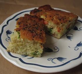 Lazy Giraffe Blog: Gujarati Recipe Series - Handvo, Savoury Cake