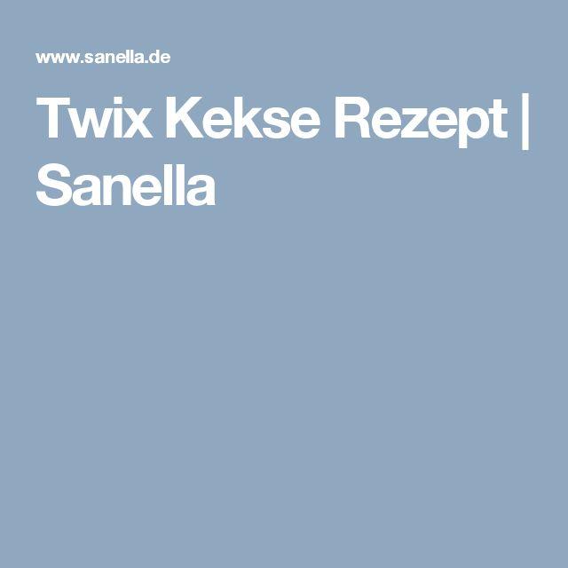 Twix Kekse Rezept | Sanella