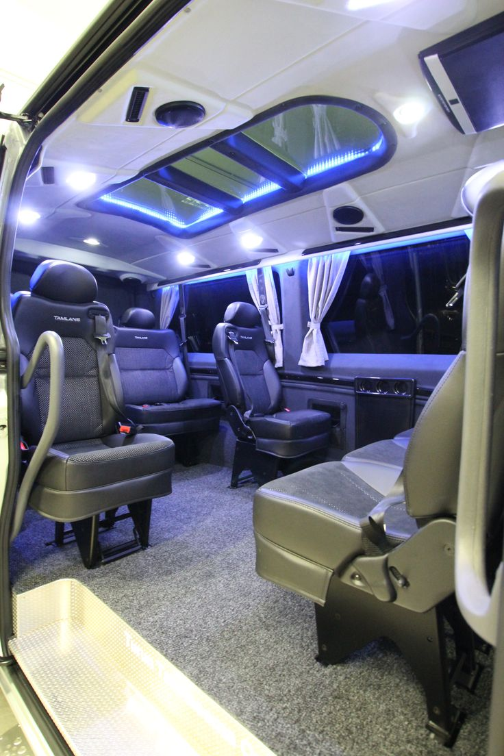 Mercedes-Benz Sprinter Tamlans Disabled Taxi, Panoramic Glass Roof
