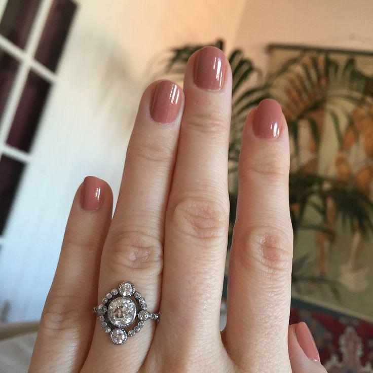 My vintage Edwardian engagement ring!