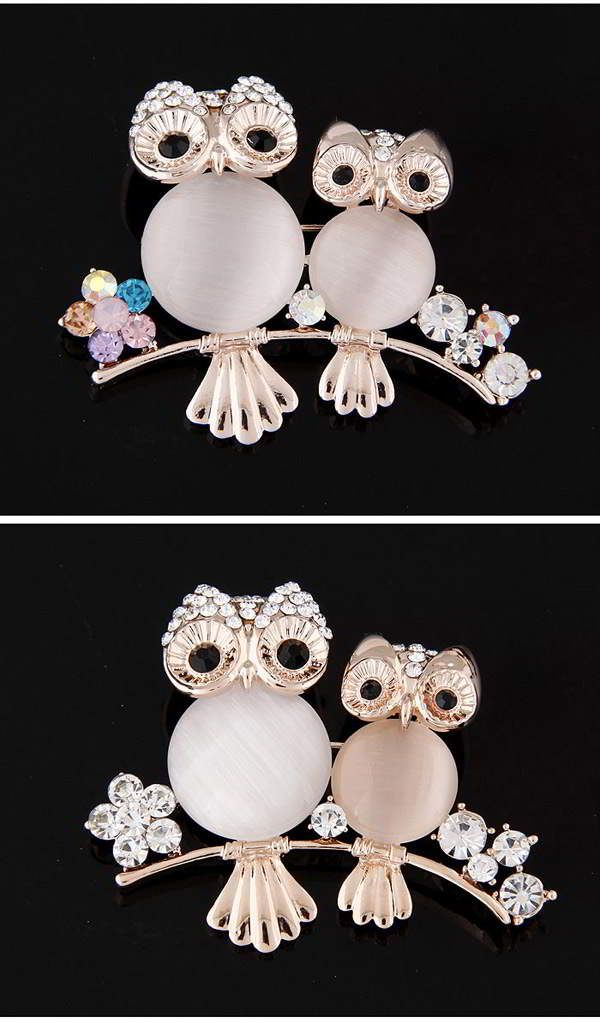Diamond Owl Shape Mulitcolor. Fashionable with passion REPIN if you like it.😊 Only 57 IDR