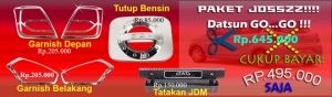 Datsun Go Paket Josszz  http://www.variasimobil.co.id/index.php?route=product/product&path=216&product_id=218