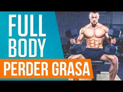 Perder grasa y definir los músculos - Rutina Fullbody - YouTube