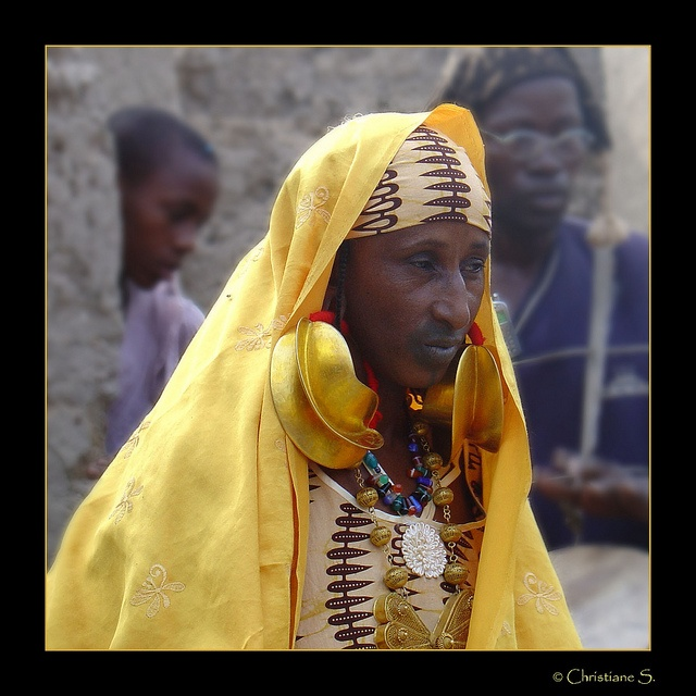 Africa |  A Fulani woman photographed in Mali |  © crispin52, via Flickr