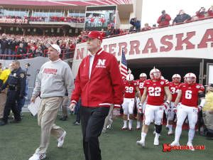 Nebraska Football - Bo Pellini & Tom Osborne - one of the most amazing images known to man.