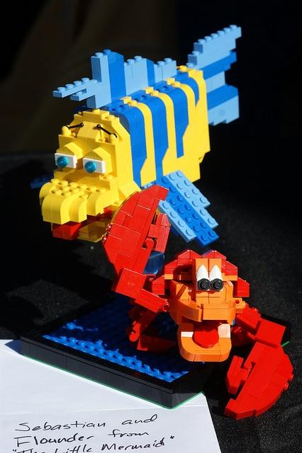 ariel lego duplo instructions