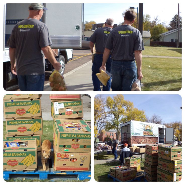 The Chuck Wagon: Montana Mobile Food Pantry visited Fort Benton yesterday. Thanks for volunteering Northwest Farm Credit Services!