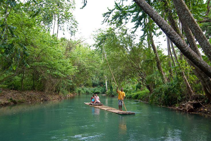 Bamboo Rafting on the Martha Brae