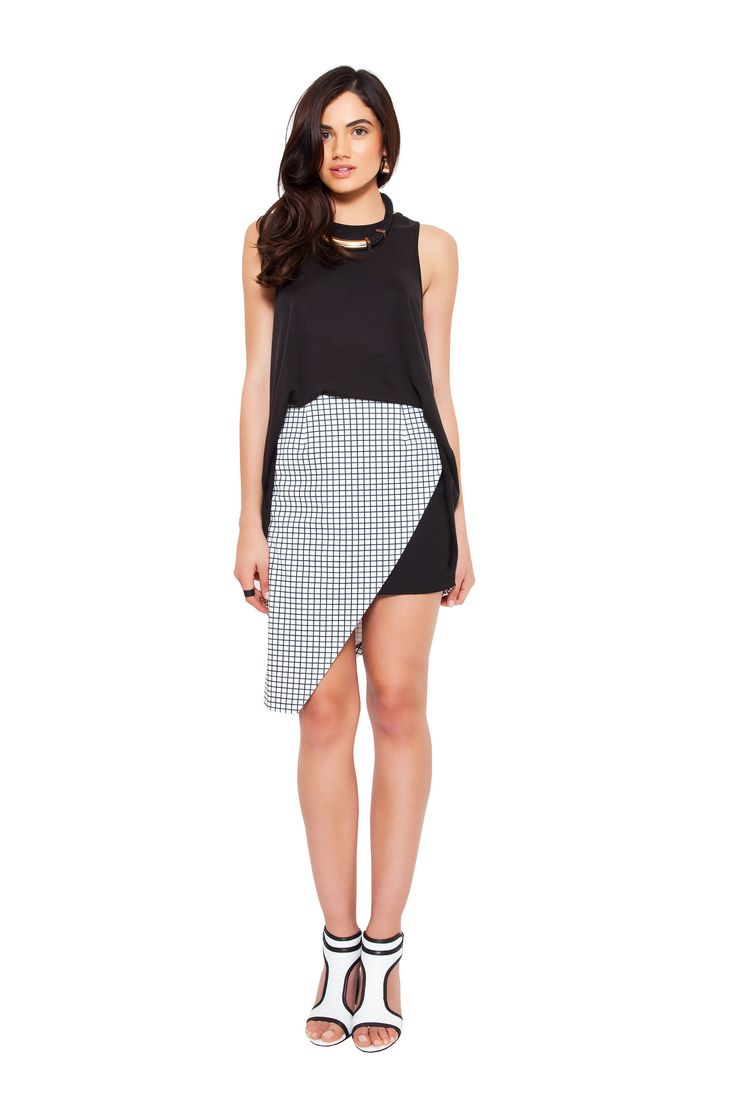 Isla by Talulah - Checklist Skirt