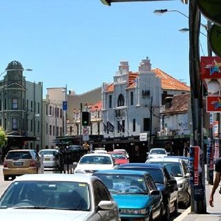 My neighborhood - King St., Newtown, NSW, Australia.