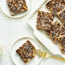 http://ohsheglows.com/2011/06/24/almond-butter-rice-crisp-treats/