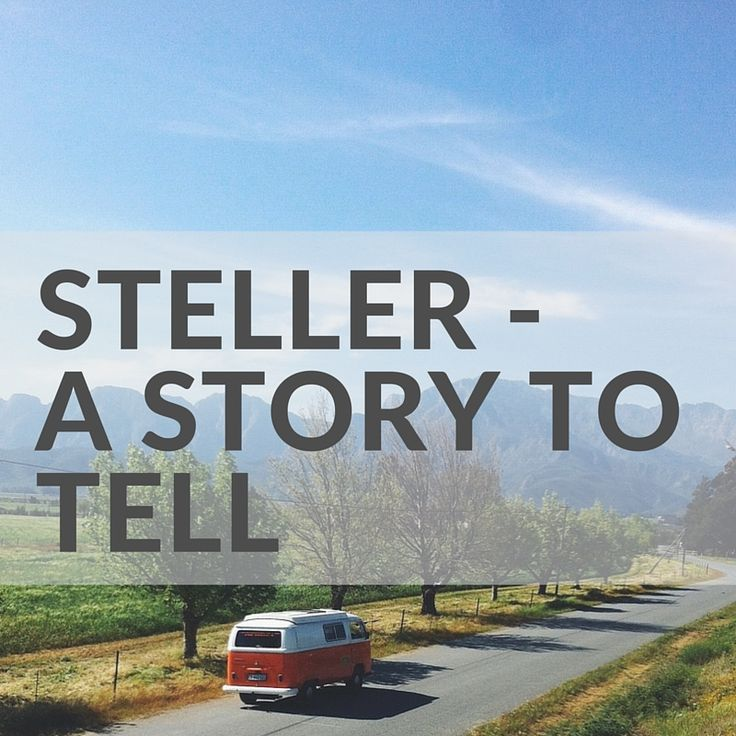 Everybody Has a Story to Tell  http://www.bearista.co.za/bearistablog/steller