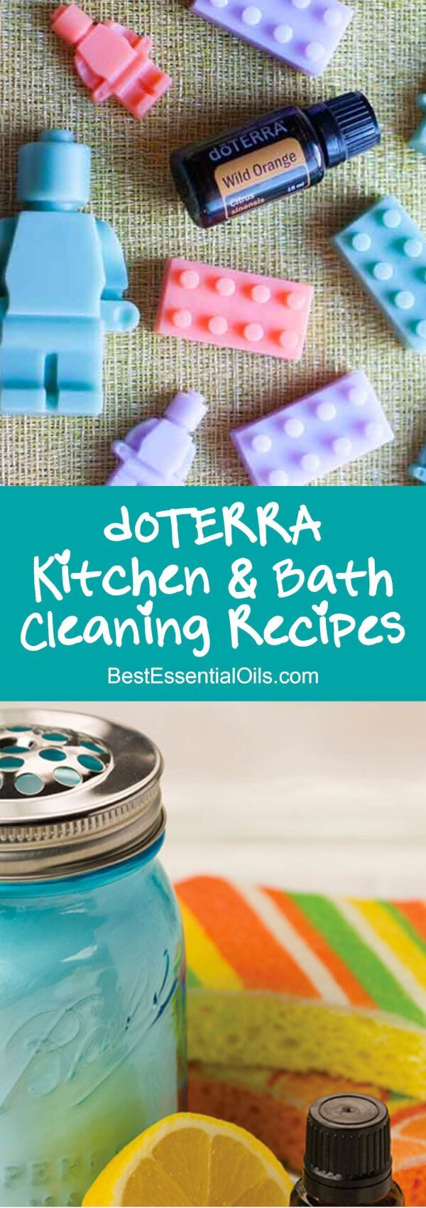 Best DIY doTERRA Essential Oil Kitchen and Bathroom Cleaning Recipes