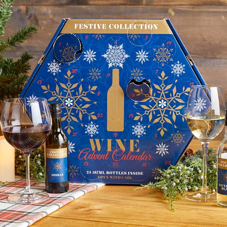 Cheers Aldi S Christmas Wine Advent Calendar Comes With 24 Bottles Of Red And White Wine Advent Calendar Beer Advent Calendar Holiday Calendar