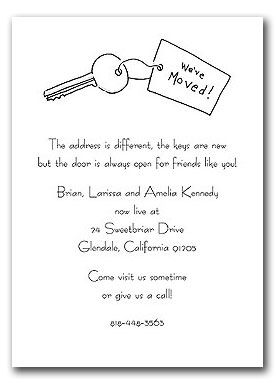 62 best invitation ideas images on pinterest moving announcements we have moved stopboris Choice Image