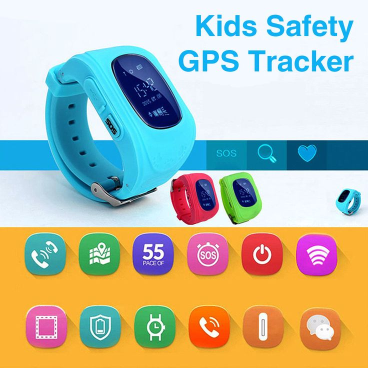 Kids Safety GPS Tracker Smartwatch *SUPER SALE* Keep your kids safe at all times! Your kids are the most important thingin your life. You want to make sure the
