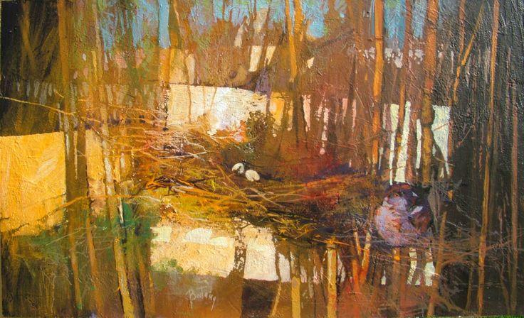 "Saatchi Art Artist: Alex Bertaina; Acrylic 2014 Painting ""L'attesa"""