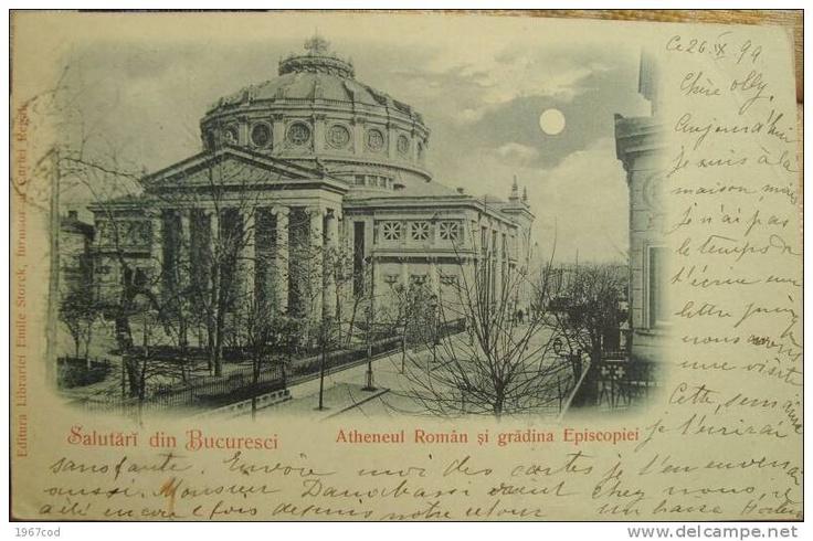 Bucuresti - Atheneul - 1899