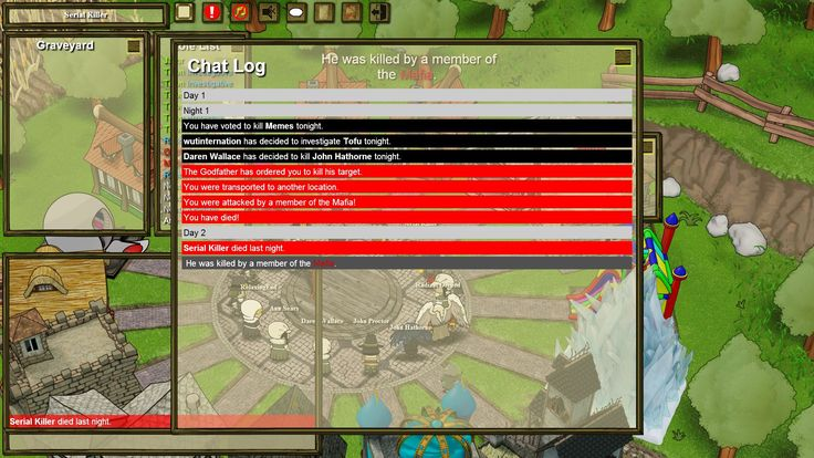 When Town Of Salem tells you to go fuck yourself.