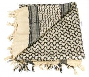 Shemagh scarf for sidebar