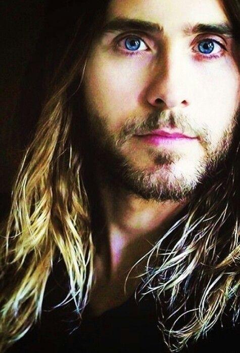 Jared Leto blue eyes. ...