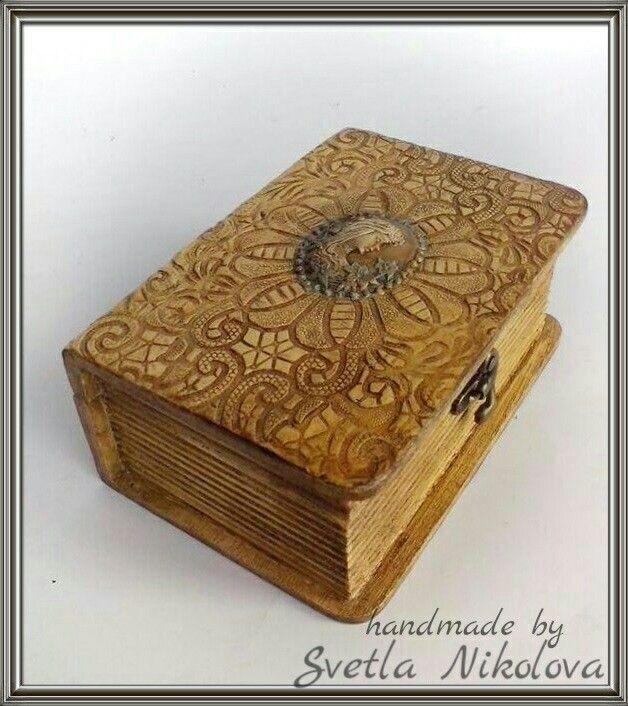 Box-book.Handmade by Svetla Nikolova