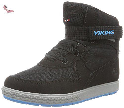 Viking Frost Fighter, Bottes de Neige Mixte Enfant, Noir (Black/Grey 203), 21 EU
