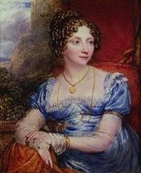 Princess Sophia, c. 1821. Painting by John Linnell.