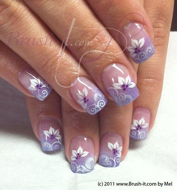 Nail Art Gallery - Lilac