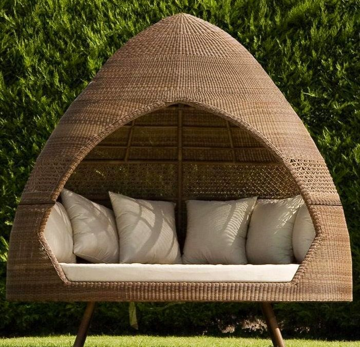 unusual outdoor chairs cane swivel chair cushions la hutte relax d alexander rose garden furniture pinterest and outside