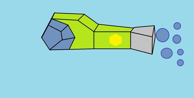 A fish Submarine