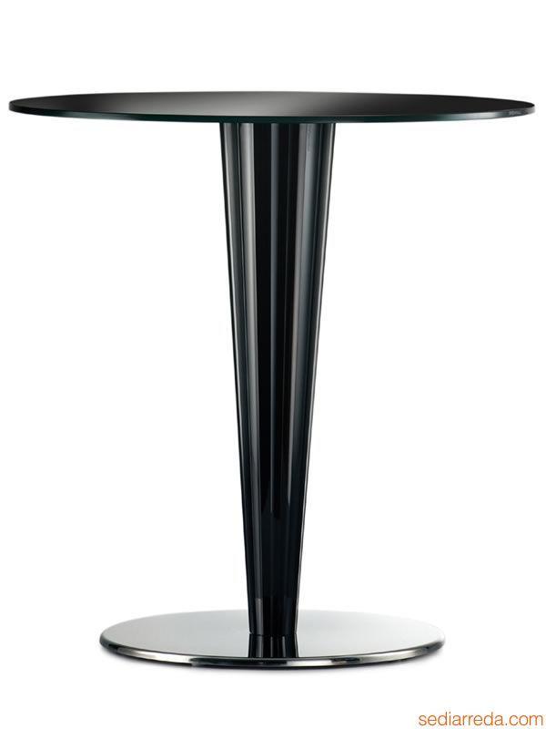 Krystal 4401 para Bare y Restaurantes - Base de design, para mesa de bar o restaurante, disponible en varios acabados - Sediarreda
