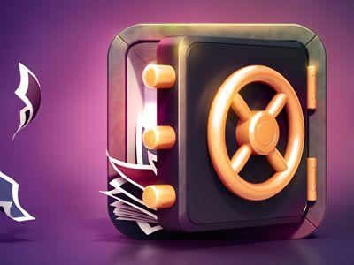 Vault App Icon Design (Final) by Creativedash