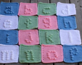 Crochet Pattern  Crochet Baby Blanket   Baby by TheBabyCrow