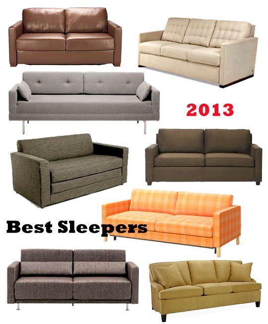 16 Best Sleeper Sofas & Sofa Beds 2013