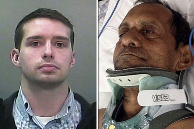 Cop Criminally Charged After Paralyzing Elderly Indian Man Who Was Visiting Family In America.