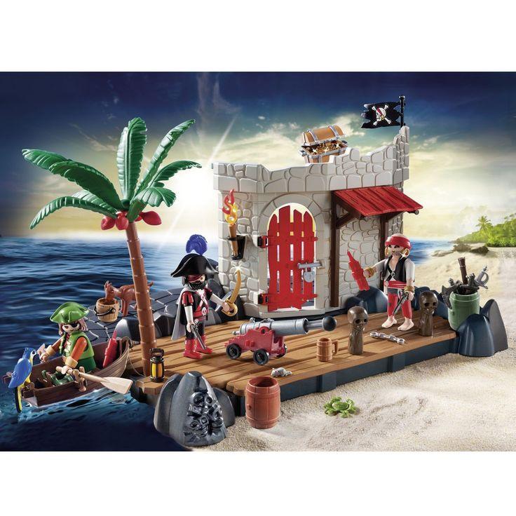 SuperSet Ilôt des pirates - Playmobil Pirates 6146